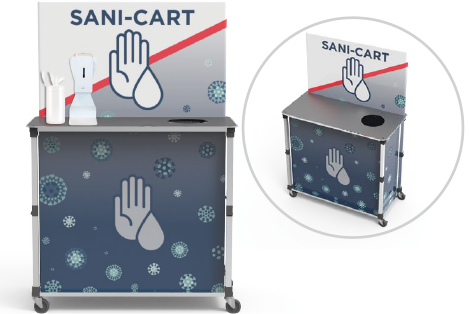 Large Sani-Cart